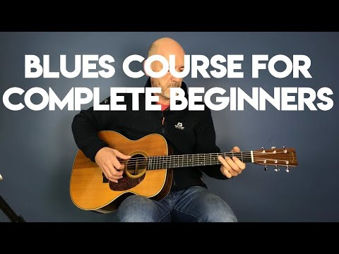 Blues guitar for complete beginners