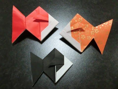 ハート 折り紙 折り紙金魚の折り方 : youtube.com