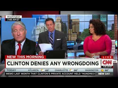 CNN anchor: Criminal probe headlines 'pretty damning' for Clinton politically