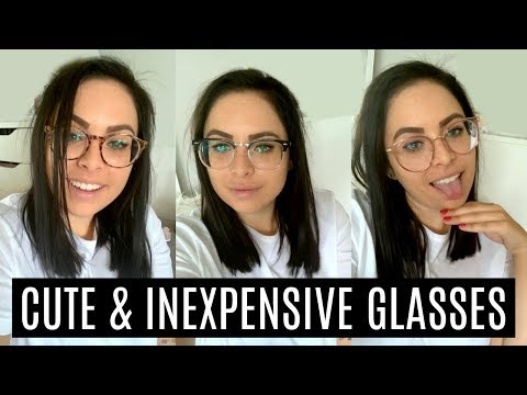 50$ GLASSES!?! WHERE/HOW I BUY CHEAP GLASSES ONLINE!