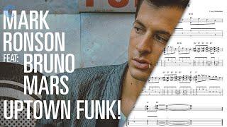 Clarinet  - Uptown Funk - Mark Ronson Sheet Music, Chords, & Vocals