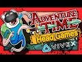 New Adventure Time Magic Man's Head Games VR For HTC Vive (Virtual Reality Gameplay) 2017
