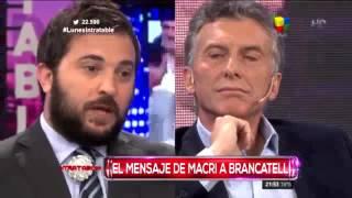 Mauricio Macri y Vidal lograron que Diego Brancatelli pueda dialogar con respeto
