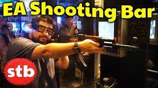 EA Shooting Bar in Tokyo, Japan // SoloTravelBlog