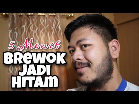 Tips Hitamin Brewok Pake Minoxidil + Black Henna 5 Menit Ampuh!!