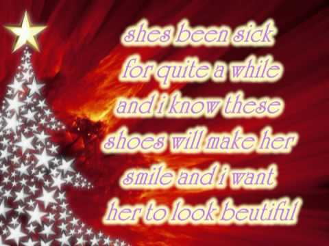 The Christmas Shoes By Alabama With Lyrics On Screen.mpg