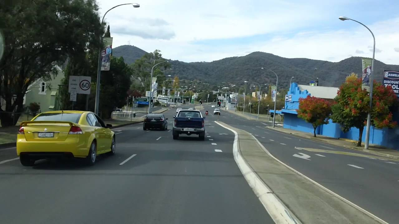 Tamworth New South Wales Australia A Drive Through - YouTube
