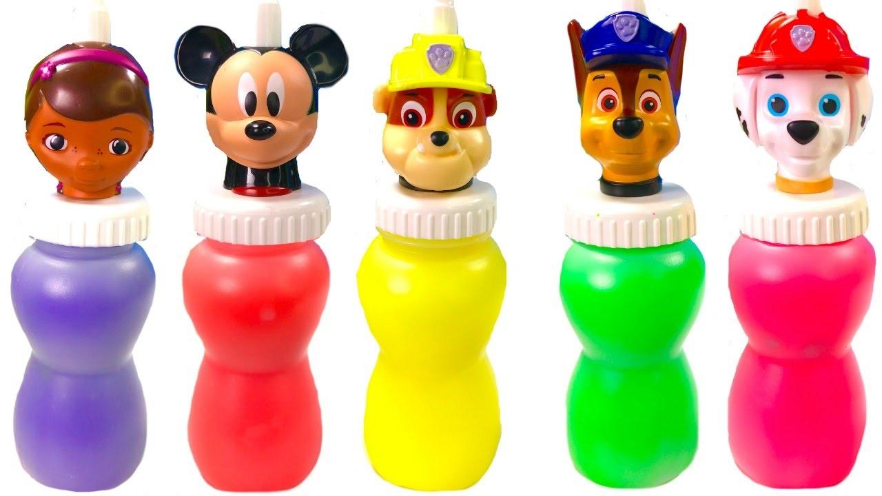 Fizzy Fun Toys: - Paw Patrol Mickey Mouse Slime Surprise Toys
