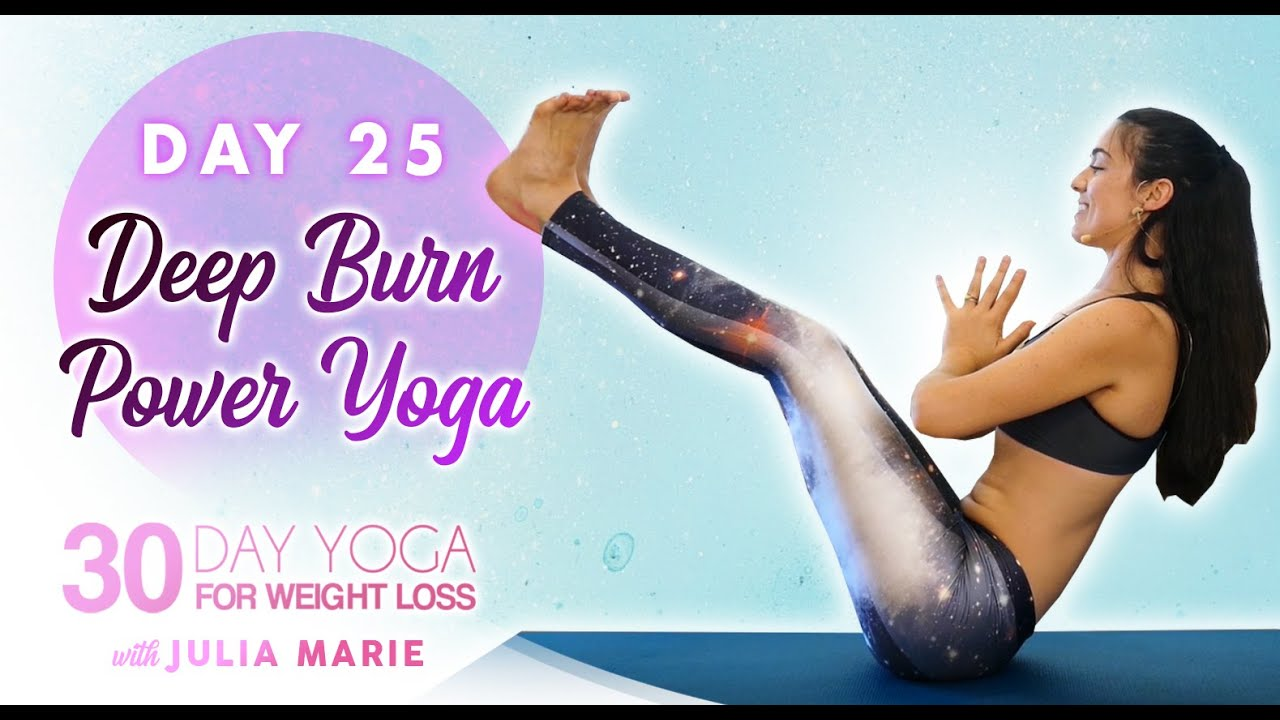 Deep Burn Workout, Total Body Strength | 30 Day Yoga Julia Marie Day 25