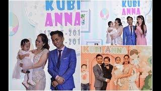 Khánh Thi Phan Hiển bật khóc nức nở trong tiệc sinh nhật của hai con