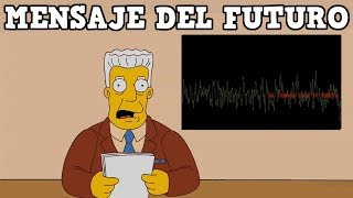 LOS SIMPSON Y EL  MENSAJE DEL  FUTURO