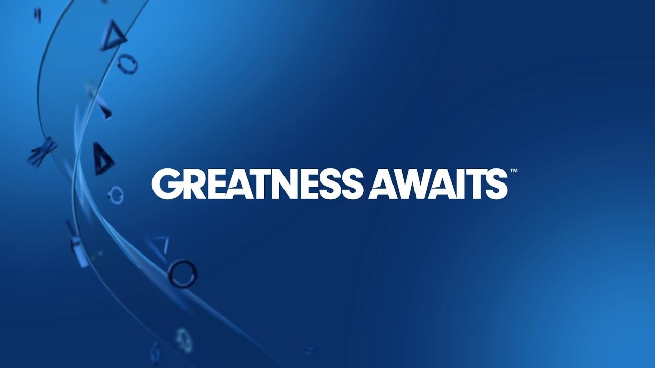 Playstation 4 launch video greatness awaits 1080p true hd quality youtube - High resolution playstation logo ...