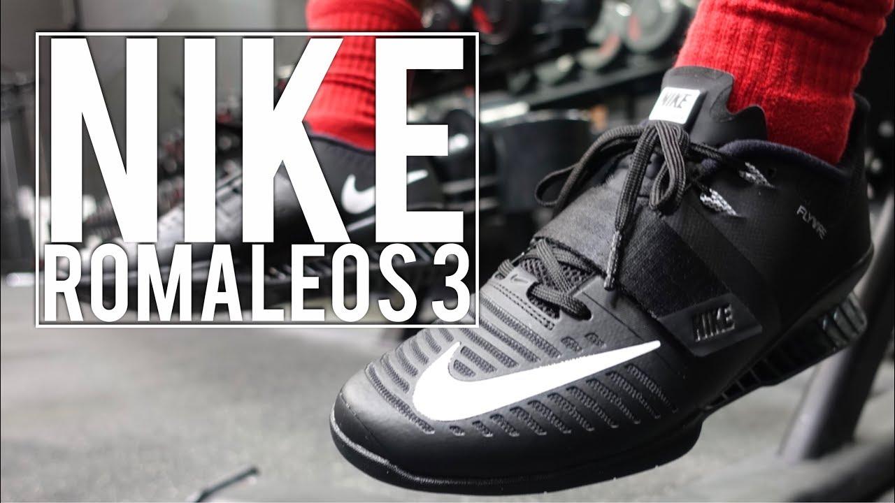 Derechos de autor abrelatas botón  Nike Romaleos 2 vs Nike Romaleos 3 | First Impression - YouTube