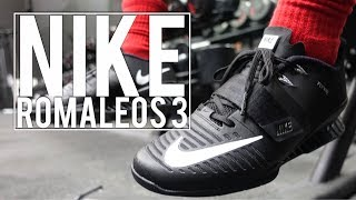 Nike Romaleos 2 vs Nike Romaleos 3 | First Impression