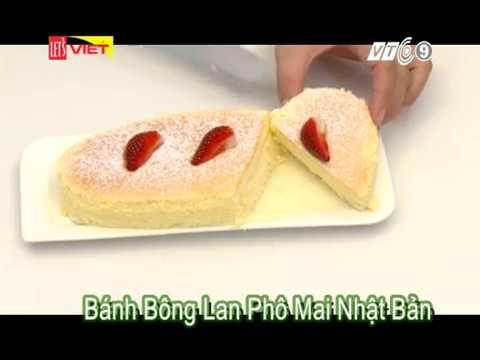 #6 | Bánh Bông Lan Phô Mai Nhật Bản | Bánh Nhà Làm | LINH ANNA BAKERY