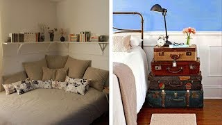 20 Tips for a Cheap and Small Bedroom Makeover