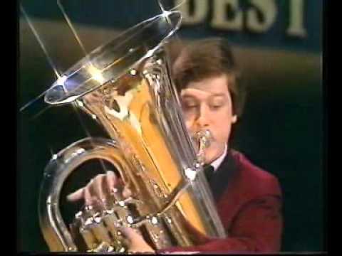 Whitburn Band - Best of Brass 1981 - Tuba Tapestry - Andy Duncan
