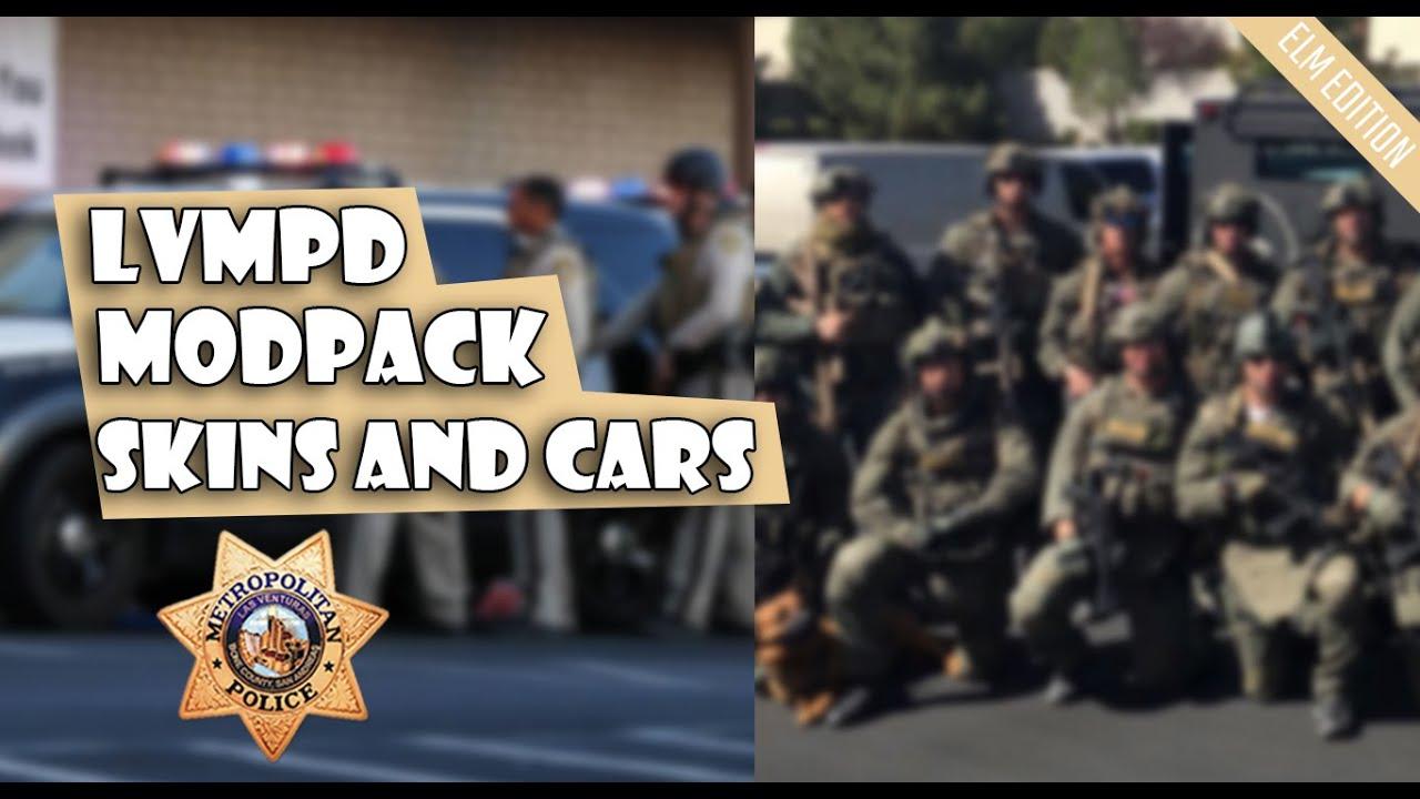 Download GTA:SA - [REL] MODPACK LVMPD SAMP   IVF   PATROL UNIT AND SWAT