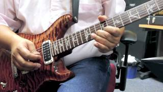 Santana Love Is You Cover with PRS Paul