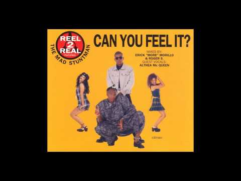 Reel 2 Real Feat. The Mad Stuntman - Can You Feel It (Erick More Club Mix) [1994]