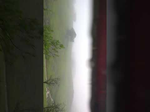 Returning from bhimashankar Pune..... wonderful weather seen by bus