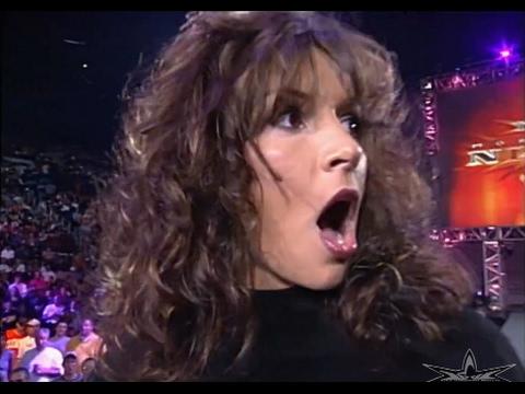 720pHD: WCW Nitro 060500  Miss Hancock & Kimberly Page Segment
