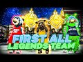 The First ALL LEGEND Team On NBA 2K20 - Three MASCOTS Try ...