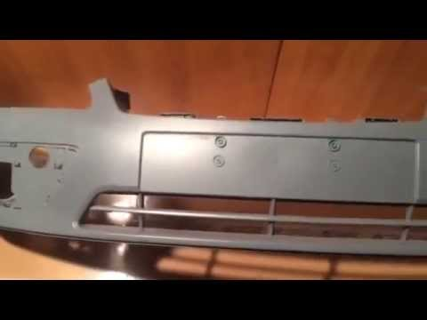 Ford Mondeo 1. Как снять бампер, лючок, молдинг, вентиляцию. Body .