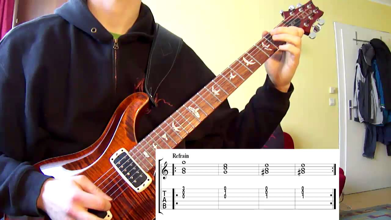 Very Easy Rock Song On Guitar For Absolute Beginners With Tabs