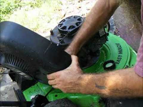 Replacing The Primer Ball On A Lawn Boy Lawn Mower