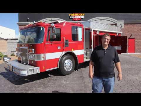 1991 Pierce Dash HAZMAT For Sale - Firetrucks Unlimited