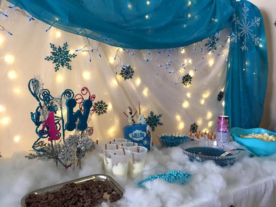 Frozen Theme Party Ideas Youtube