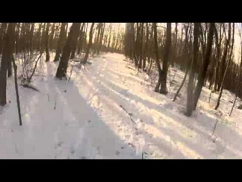 Snowy Winter Ride in the Vienna Woods