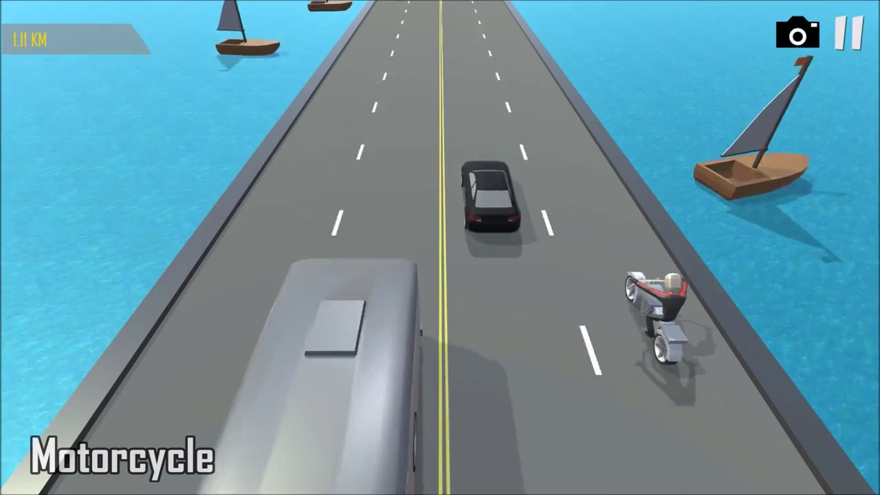 Unity Asset Store Pack - Traffic (Car / Bike) Racing game template  (Download link below)