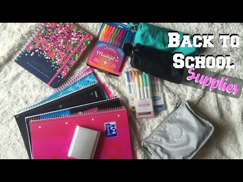 BACK TO SCHOOL SUPPLIES HAUL 2016♡