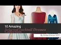 10 Amazing Selected cocktail Dresses Collection By Artka Winter 2017