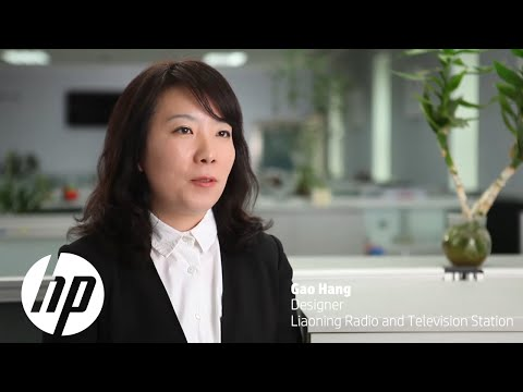 HP Officejet Pro X Customer Testimonial at Liaoning Radio and Television Station, China