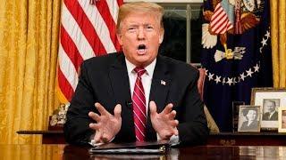 LIVE: Trump Address on Border Wall & Govt Shutdown