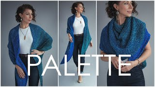 How to Knit this GORGEOUS Shawl! Easy Beginner Knitting Pattern