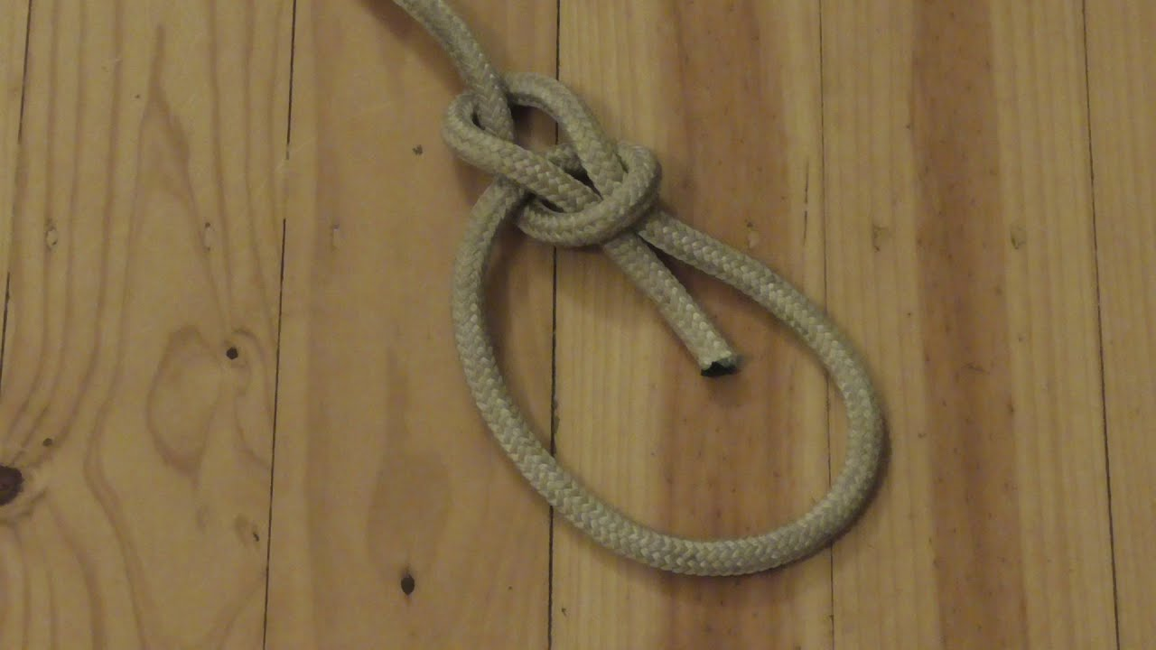 The World's Most Useful Knot: Learn How To Tie The Bowline Knot