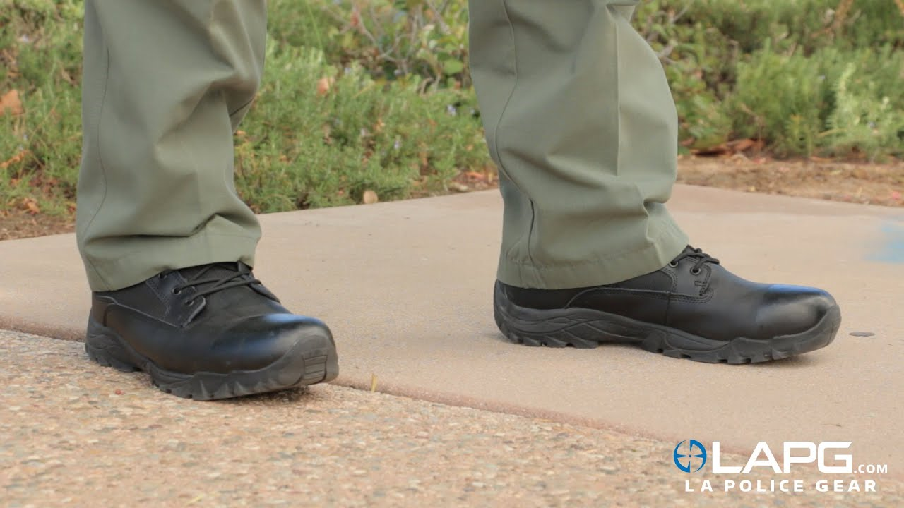 LA Police Gear - Tactical Duty Boots - YouTube - photo #35
