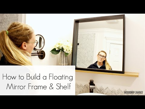 how-to-make-a-floating-bathroom-mirror-&-shelf
