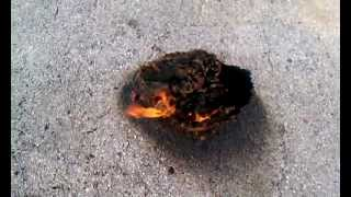 Spontaneous Combustion Experiment.. Successful!