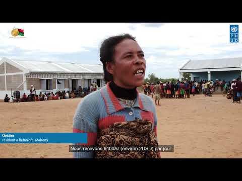 Du travail, de l'eau et du revenu à Maheny