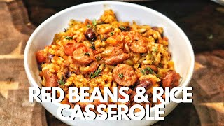 Easy Red Beans And Rice Casserole Recipe  Comfort Foods To Make At Home