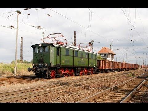 E77 10 Fotogüterzug Köthen - Halle
