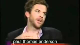 Charlie Rose - Adam Sandler & Paul Thomas Anderson Part 2