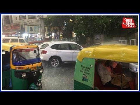 Rain Lashes Delhi-NCR Region, Brings Relief From Scroching Heat