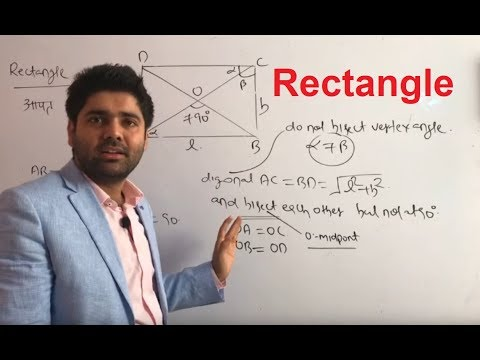 Geometry Part 22 - Rectangle By Abhinay Sharma SSC CGL Mains 2017 (Abhinay Maths)