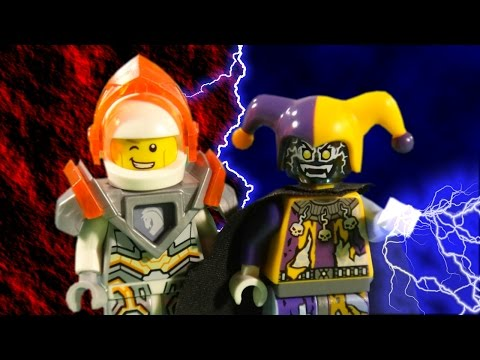 LEGO NEXO KNIGHTS- LANCE'S TWIN JOUSTER CHARGE!!!!